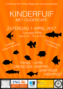 PPW vzw - kinderfuif affiche 2017