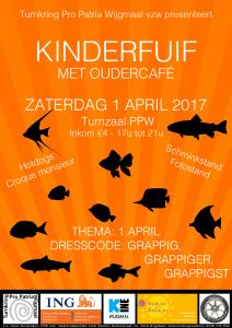 PPW vzw - kinderfuif affiche 2017