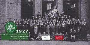 PPW 100 - groepsfoto uit 1927 voor Foyer Remy