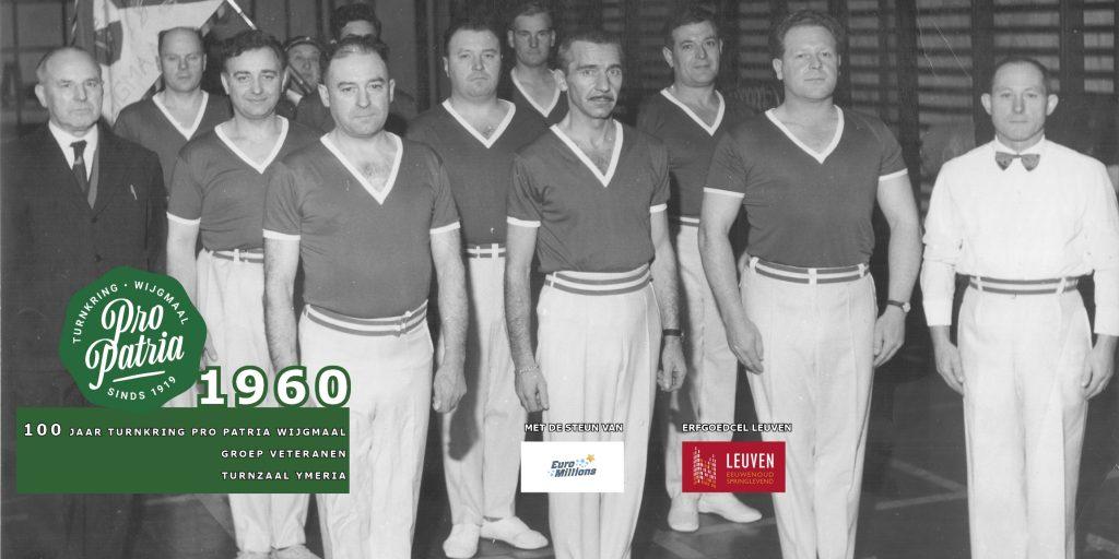 PPW 100 - groepsfoto 1962 groep veteranen