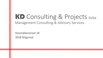 Logo KD Consulting Projects