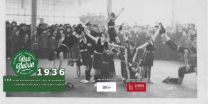 PPW 100 - beeld opening Turnzaal Ymeria 1936